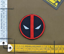 "Ricamata / Embroidered Patch ""Deadpool"" with VELCRO® brand hook"