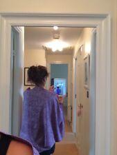 Kimono Cardigan écharpe, 100% polyester, taille L, couleur pourpre