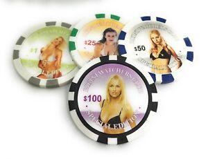 Pokerchips Bikini Watchers Club Special Edition Poker Chips