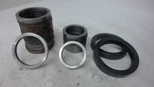 LOT OF 24, VARIOUS STEEL SPACER/BUSHINGS, SEE DESCRIPTION FOR MORE INFORMATION