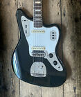 1967 FENDER JAGUAR IN FACTORY CUSTOM BLACK FINISH COMES WITH HARD SHELL CASE for sale