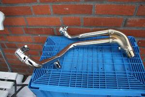 Triumph Speed Triple 1050  515NJ Zwischenrohr original Auspuff Krümmer 2008-2010