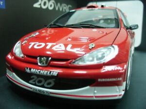 WOW EXTREMELY RARE Peugeot 206 WRC Gronholm Winner Argentina 2003 1:18 Auto Art