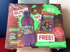 TEENAGE MUTANT NINJA TURTLES - PANINI CARD SEALED BOX - 30 PACKS - FRUIT SHOOT