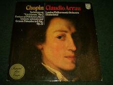 Chopin Variations on La Cidarem Op. 2 Claudio Arrau~Holland Import~FAST SHIPPING
