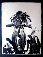 Fine Art Abstract Print of a Female Figure by Mary Frank 23/35