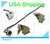 DC power jack cable harness for Compaq Presario CQ57-319WM CQ57-321SG CQ57-339WM