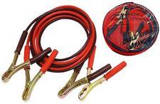 Pinza / cables de Arranque 9mm 400 amperios cable ayuda bateria coche 400AH