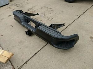 2020 CHEVY SILERADO 1500 REAR BUMPER WITH HITCH