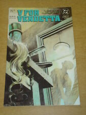 V FOR VENDETTA #6 DC COMICS ALAN MOORE DAVID LLOYD DECEMBER 1988 X