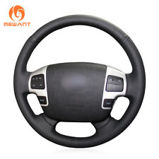 Artificial Leather Steering Wheel Cover for Toyota Land Cruiser Tundra Sequoia
