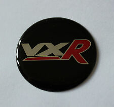 Vauxhall Vxr STICKER/DECAL 43mm de diámetro acabado de alto brillo abovedado Gel