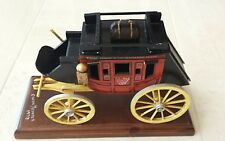 Oscar M. Cortes WELLS FARGO & CO. OVERLAND STAGECOACH SIGNED 1978 RAREST OF RARE