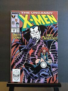 UNCANNY X-MEN #239 VF+ 8.5 1st MR SINISTER COVER,2nd App KEY Marvel Copper Age