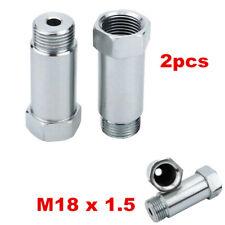 2pcs O2 CEL Fix Eliminator Oxygen Sensor Extension Spacer Adapter 55mm Bung