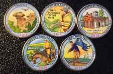 2016 P COLORIZED NATIONAL PARK QUARTER SET