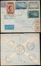 POLAND WW2 APO 1946 REGISTERED to IRELAND AIRMAIL...CORPO POLACCO ITALY