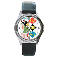 Kiss Me Kate (the musical) watch (round metal wristwatch)