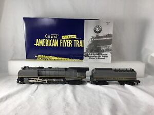 AMERICAN FLYER S SCALE 48054 UNION PACIFIC 4-8-4 NORTHERN W/ RAILSOUNDS MINT NEW