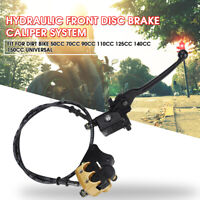 Hydraulic Front Disc Brake Caliper System 50cc 70cc 125cc PIT PRO Dirt Bike New