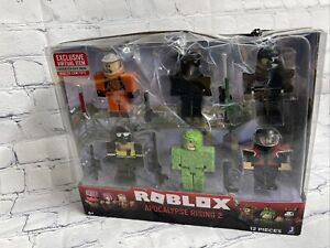 ROBLOX - APOCALYPSE RISING 2 - 6 Figures - 12 Pieces SEE PICS BOX - SEALED!