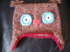 Baby Girls Owl Hat  Approx 2-3 years