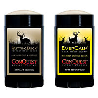 ConQuest Scents Rutting Buck Pack Scent Sticks Ever Calm Deer Herd 2.5oz #90374