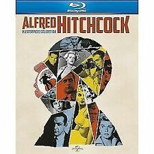 Alfred Hitchcock The Masterpiece Collection 5050582912807 Blu-ray Region B
