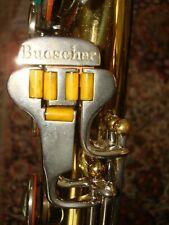 vintage BUESCHER 400 baritone sax saxophone baritonsaxophon NEW PADS! PLAYS!