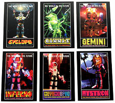 COLORFORMS OUTER SPACE MEN SECOND SERIES WOTF NON SPORT CARD EXCLUSIVE SET OF 6