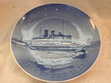 Vintage Royal Copenhagen Bing and Grondahl B&G Christmas Plate 1933 7""