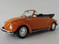 VW Maggiolone 1303 Cabriolet Arancione 1973 1/18 Norev 188521 Beetle Volkswagen