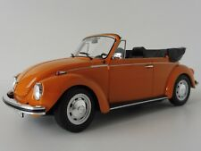 Volkswagen 1303 Convertibile Käfer Beetle 1973 1/18 Norev (orange)