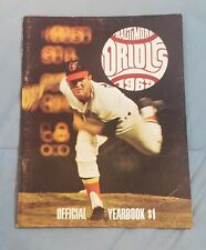 1969 BALTIMORE ORIOLES Official Yearbook BROOKS ROBINSON Dave McNALLY Jim PALMER