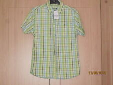 Next Boys' Checked 100% Cotton Casual T-Shirts, Tops & Shirts (2-16 Years)