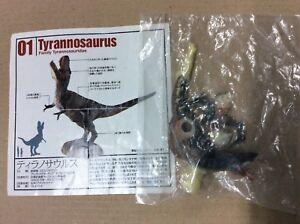 UHA Kaiyodo Dinotales 5 T-Rex Tyrannosaurus A Dinosaur Figure RARE NEW Sealed