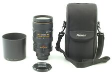 【TOP MINT w/Hood】Nikon ED AF VR-Nikkor 80-400mm f/4.5-5.6 D Zoom Lens from JAPAN