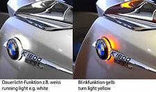 For BMW K1600GTL roundel badge two colour LED backlight/emblem light untill 2016