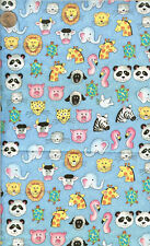 VINTAGE - ANIMAL FACES - FABRIC TRADITION - 1997 - BTHY
