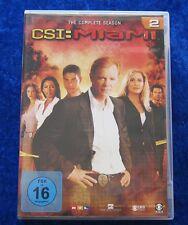 CSI Miami Die komplette zweite Staffel, DVD Box Season 2