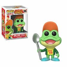 Kellogg's Honey Smacks Dig Em' Frog Ad Icons Pop! Vinyl Figure #25