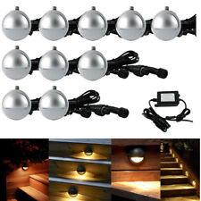 10x35mm DC12V Half Moon Outdoor Garden Stair Path LED Deck Step Lights Lamp Kit