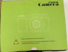 HD Display 3 Inch Portable 4x Zoom Digital Camera CDRW With SD CARD-Free Ship