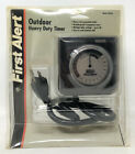 First Alert Outdoor Heavy Duty Timer TM320 VTG NOS Clock face Christmas Lights photo