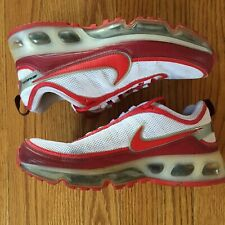 5f48fdc16d Women's 2007 Nike Air Max 360 White Red Silver Runner Cross Trainer Lows Sz  8.5