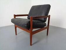 Mid-Century Danish Teak Armchair by Borge Jensen and Sonner for Bernstorffsminde