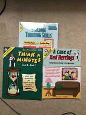 Critical Thinking Company Lot of 3