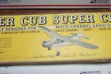 ONE OLD -BIG- VINTAGE -STERLING- PIPER CUB SUPER CRUISER MODEL AIRPLANE KIT FS-8