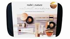 NUDE BY NATURE NATURAL WONDERS GOOD FOR YOU DELUXE COMPLEXION SET MAKE UP KIT