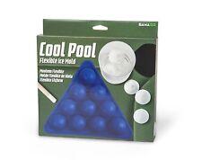 NEW Gama Go Cool Pool Silicone Billiard Ball Flexible Ice Mold Cube Tray